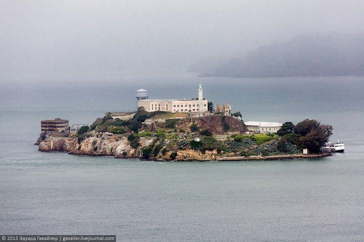Алькатрас — легендарная тюрьма Америки (1)