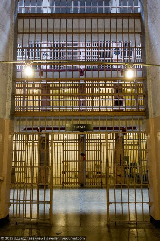 Алькатрас — легендарная тюрьма Америки (19)