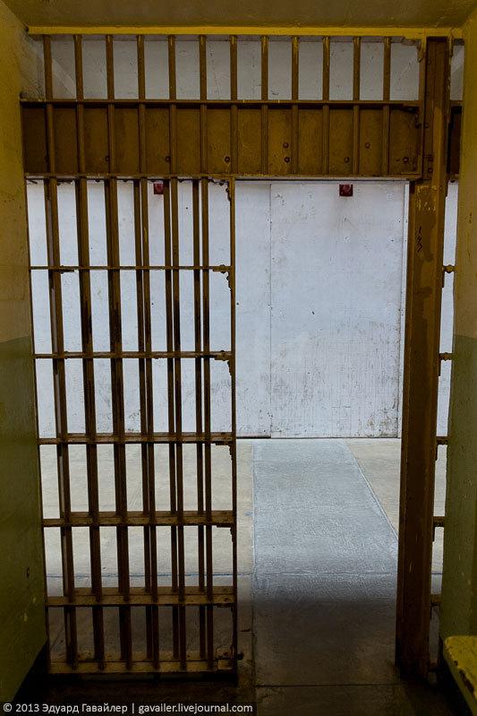 Алькатрас — легендарная тюрьма Америки (34)