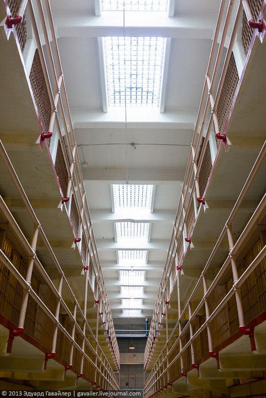 Алькатрас — легендарная тюрьма Америки (41)