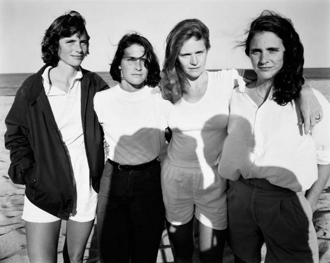 каждый год по фото, как стареют люди, четыре сестры (10)