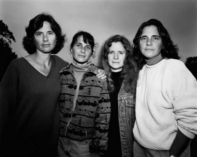 каждый год по фото, как стареют люди, четыре сестры (19)