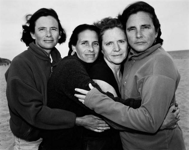 каждый год по фото, как стареют люди, четыре сестры (26)