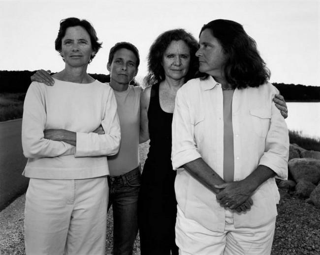 каждый год по фото, как стареют люди, четыре сестры (31)