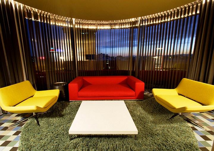 Hotel Puerta América необычный отель в Испании (32)