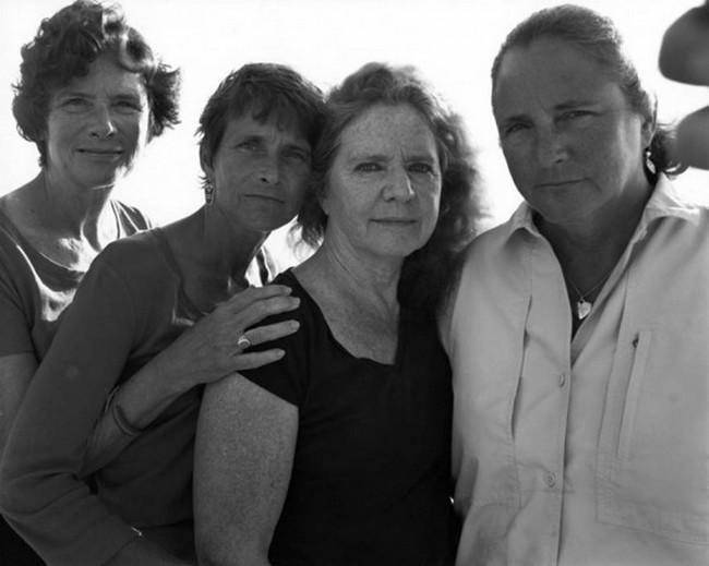 каждый год по фото, как стареют люди, четыре сестры (35)