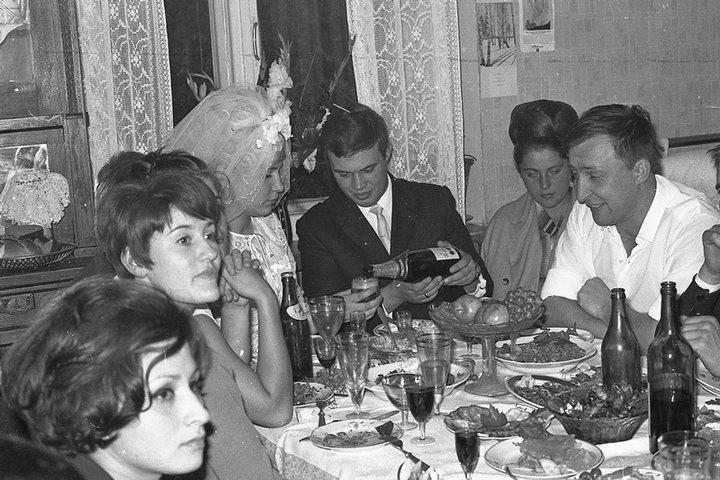 Свадьба в СССР, как это было (58)