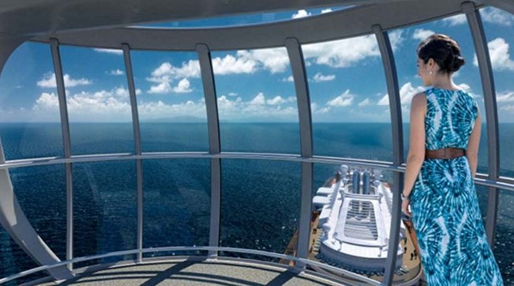 Роскошный круизный корабль Quantum of The Seas, новый круизный лайнер (10)