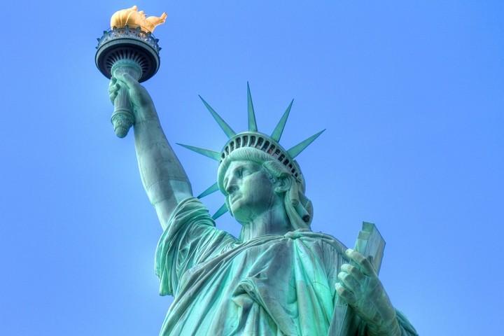 Как строили статую Свободы в Нью-Йорке, старые фото (12)
