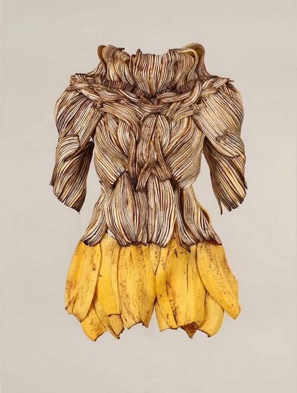 Платья из еды, необычные платья (10)