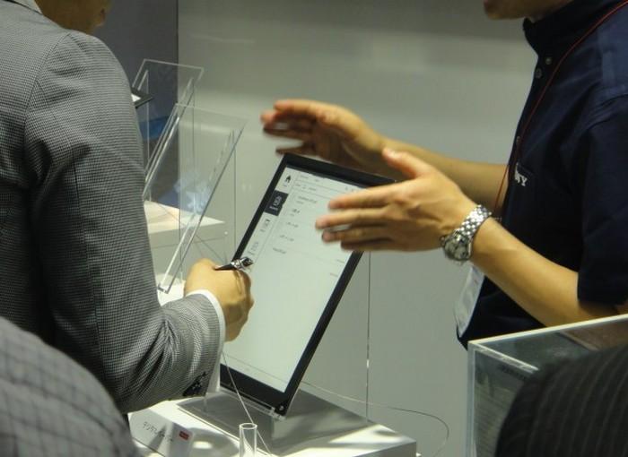 Электронная тетрадь SONY с экраном формата A4 1200 x 1600 пикселей (7)