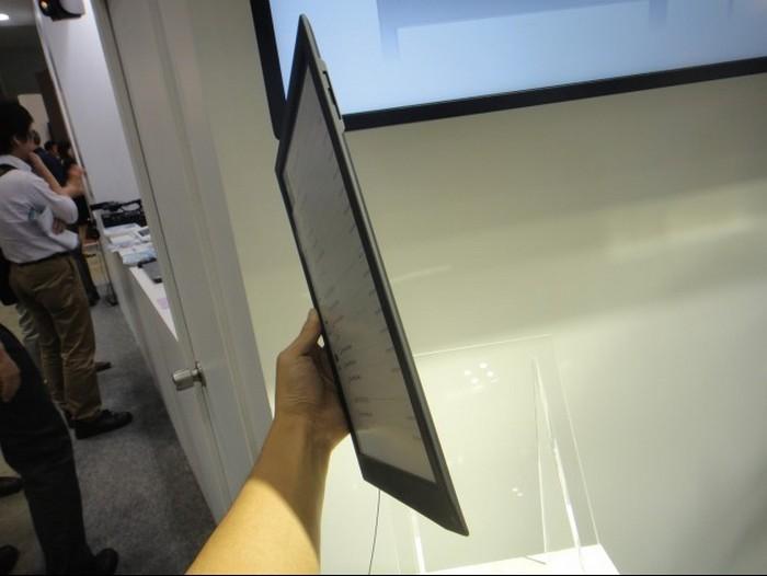 Электронная тетрадь SONY с экраном формата A4 1200 x 1600 пикселей (3)