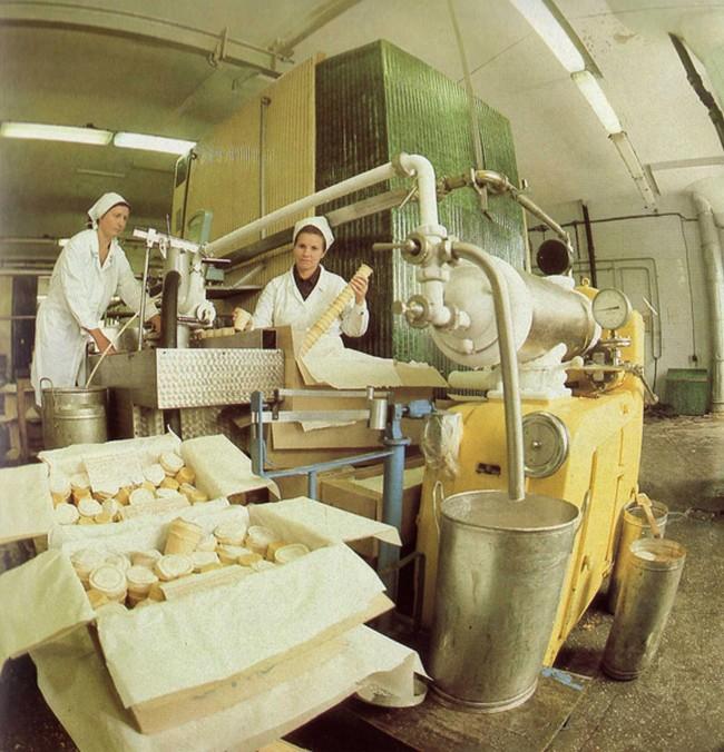 Как делали мороженое в СССР, цены на мороженое в СССР, советское мороженое (10)