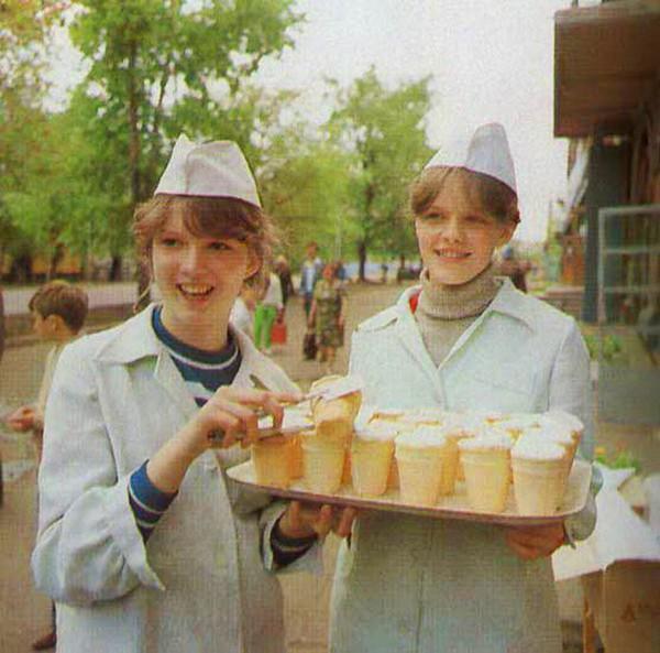 Как делали мороженое в СССР, цены на мороженое в СССР, советское мороженое (11)