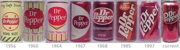 Эволюция банок популярных прохладительных напитков (5)