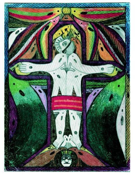 Что рисуют шизофреники, рисунки душевнобольных (10)