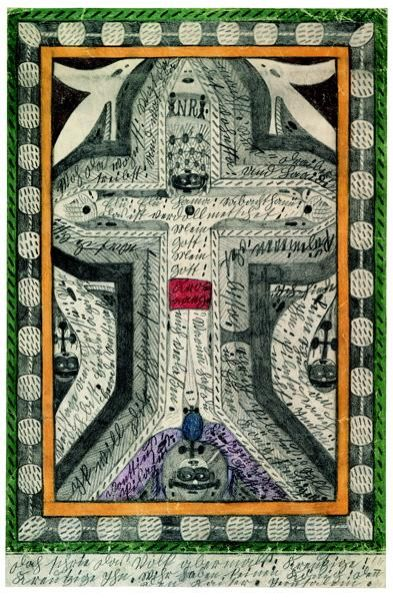 Что рисуют шизофреники, рисунки душевнобольных (8)
