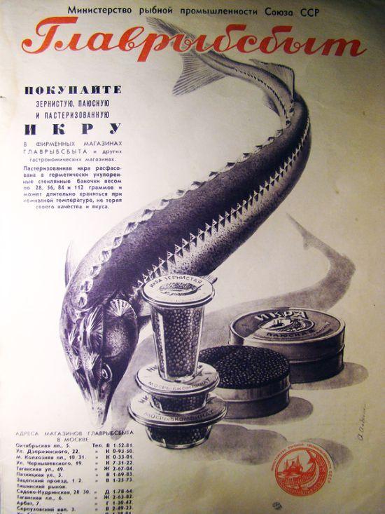 Рекламные плакаты, распространявшиеся в Советском Союзе в 50-60-х годах (8)