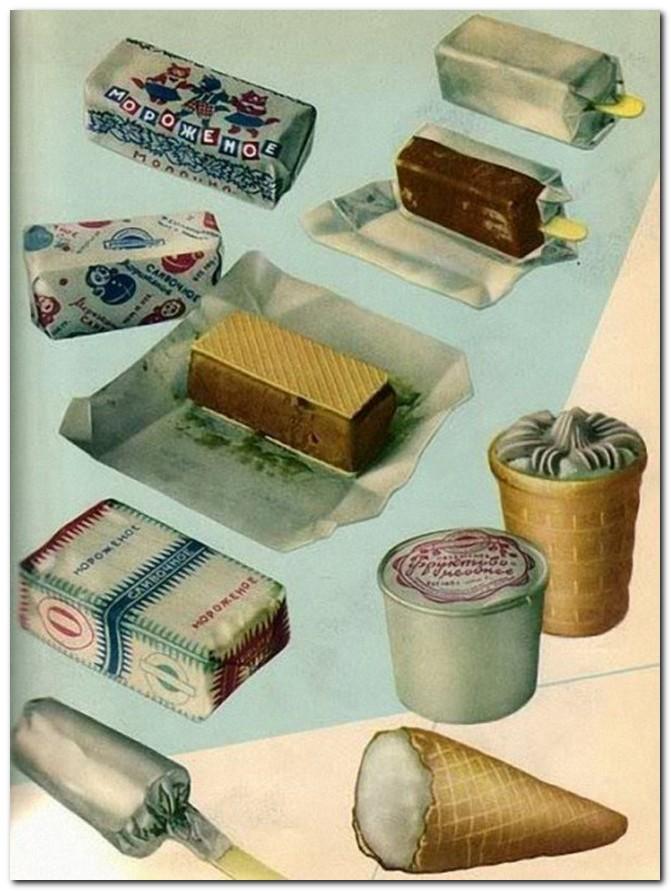 Как делали мороженое в СССР, цены на мороженое в СССР, советское мороженое (3)