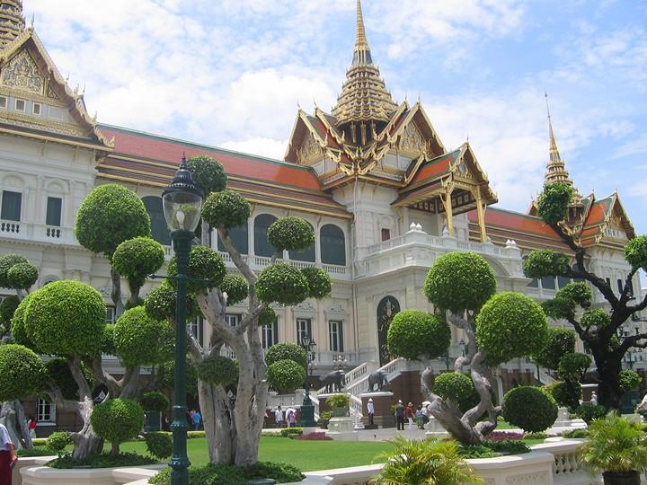 Город Бангкок - шумная столица Таиланда (2)
