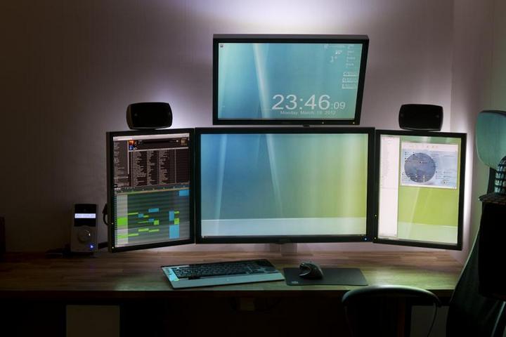 Самые лучшие рабочие места с компьютером (14)