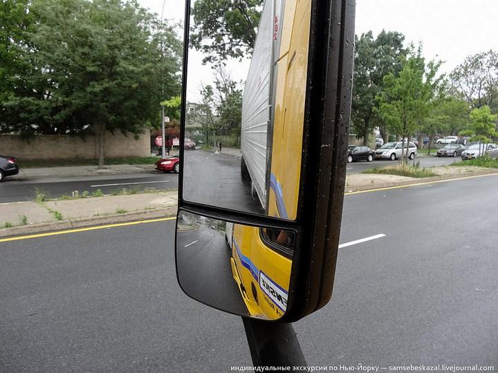 Американский грузовик Freighliner Cascadia внутри кабины, как выглядит американский тягач внутри, органы управления (5)