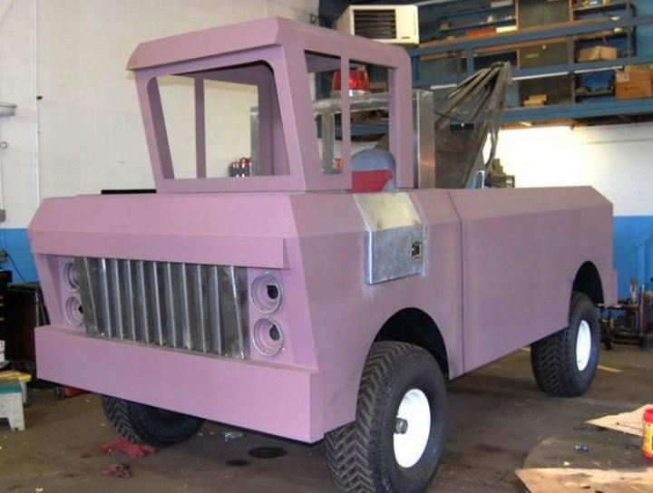 Воплощение детской мечты в реальность, Самодельный автомобиль (6)