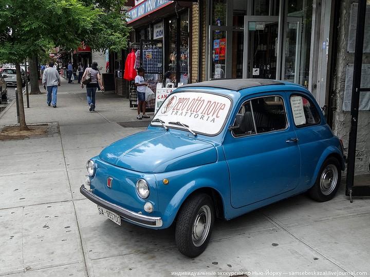 Фото старых американских машин Нью-Йорка. Ностальгия (7)