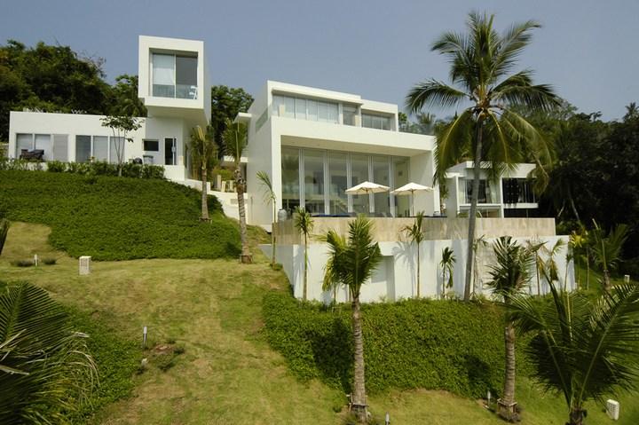 Роскошная вилла в Тайланде — Villa Beige, красивый отель с видом на море (15)