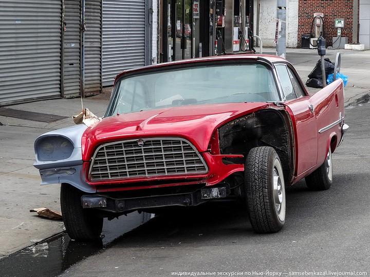 Фото старых американских машин Нью-Йорка. Ностальгия (15)