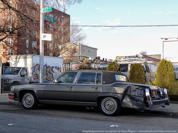 Фото старых американских машин Нью-Йорка. Ностальгия (16)