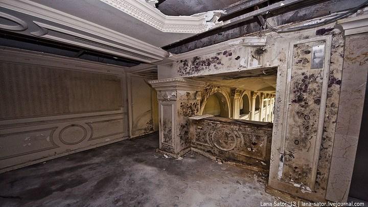 Абандон. Заброшенная пятизвездочная гостиница в Питере (16)