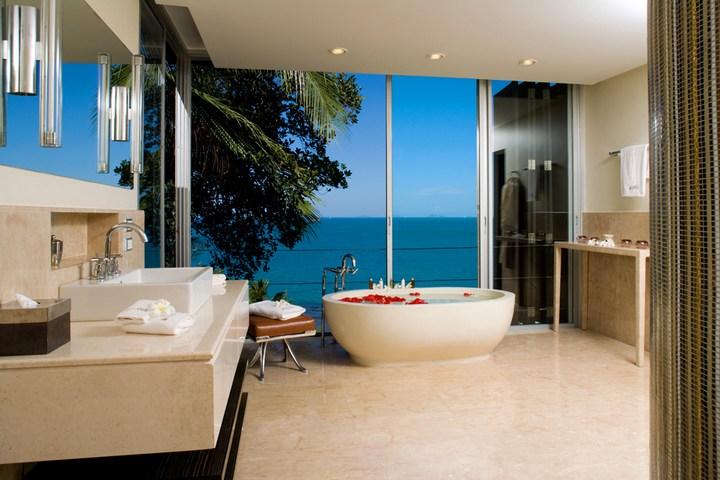 Роскошная вилла в Тайланде — Villa Beige, красивый отель с видом на море (17)