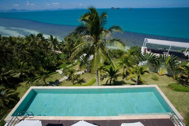 Роскошная вилла в Тайланде — Villa Beige, красивый отель с видом на море (19)