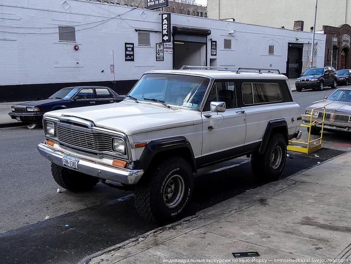 Фото старых американских машин Нью-Йорка. Ностальгия (19)