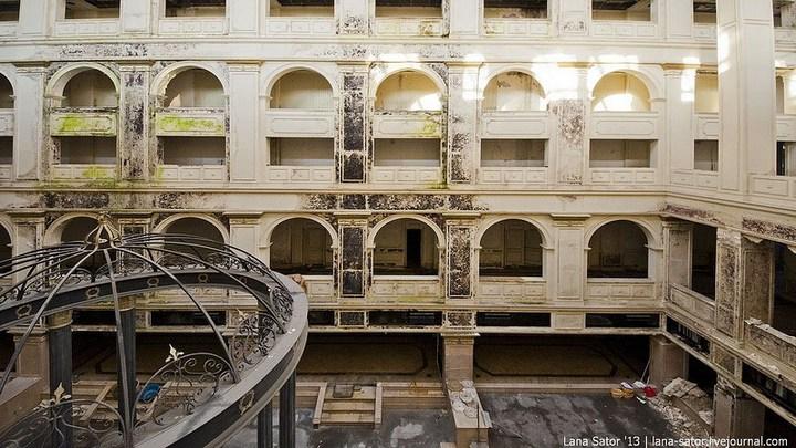 Абандон. Заброшенная пятизвездочная гостиница в Питере (19)
