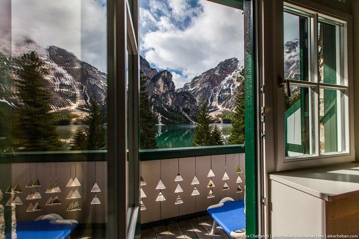 Озеро Брайес (Lago di Braies) в Италии (22)