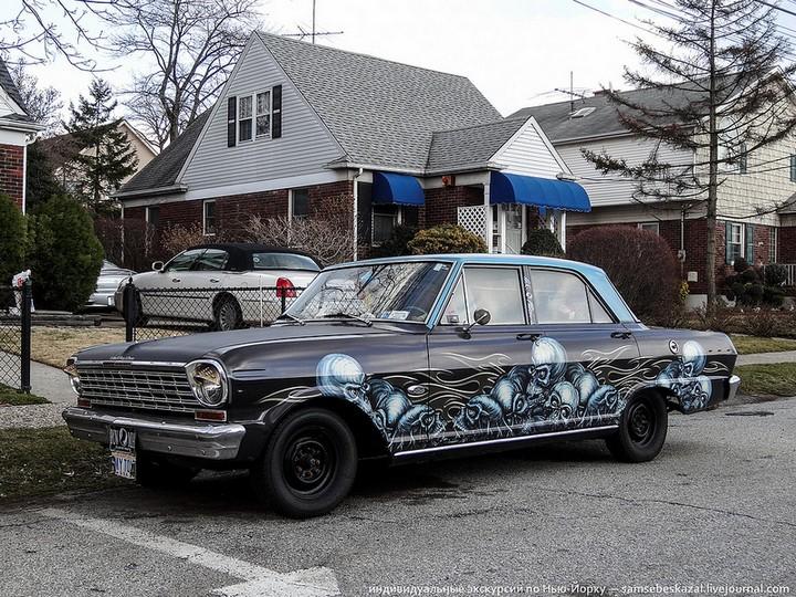 Фото старых американских машин Нью-Йорка. Ностальгия (22)