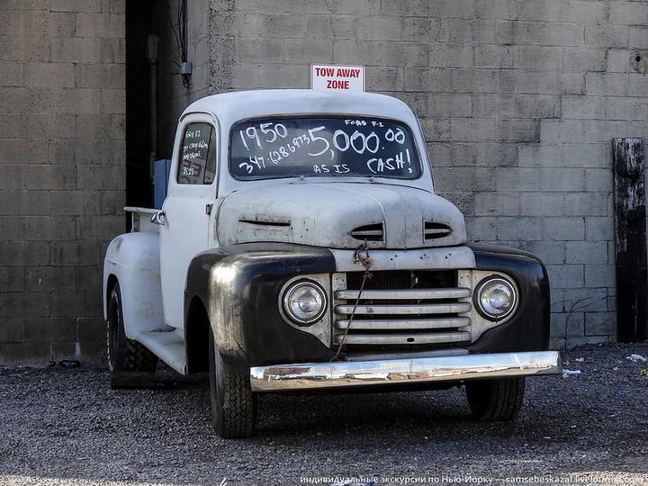 Фото старых американских машин Нью-Йорка. Ностальгия (23)