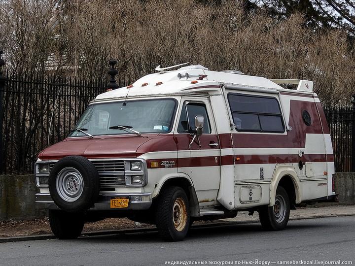 Фото старых американских машин Нью-Йорка. Ностальгия (26)