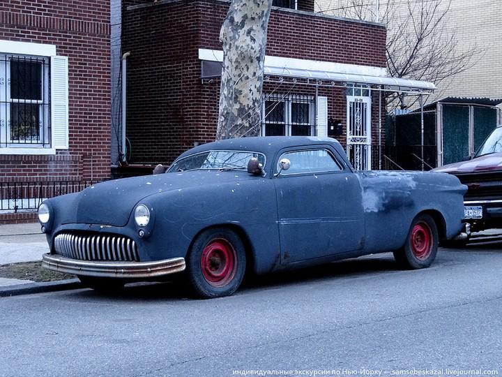 Фото старых американских машин Нью-Йорка. Ностальгия (27)