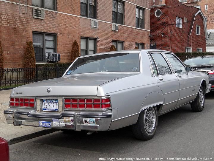 Фото старых американских машин Нью-Йорка. Ностальгия (28)