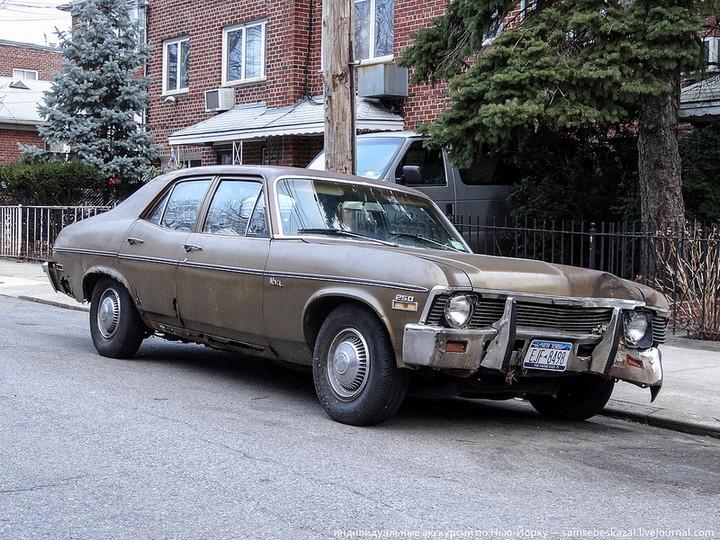 Фото старых американских машин Нью-Йорка. Ностальгия (30)