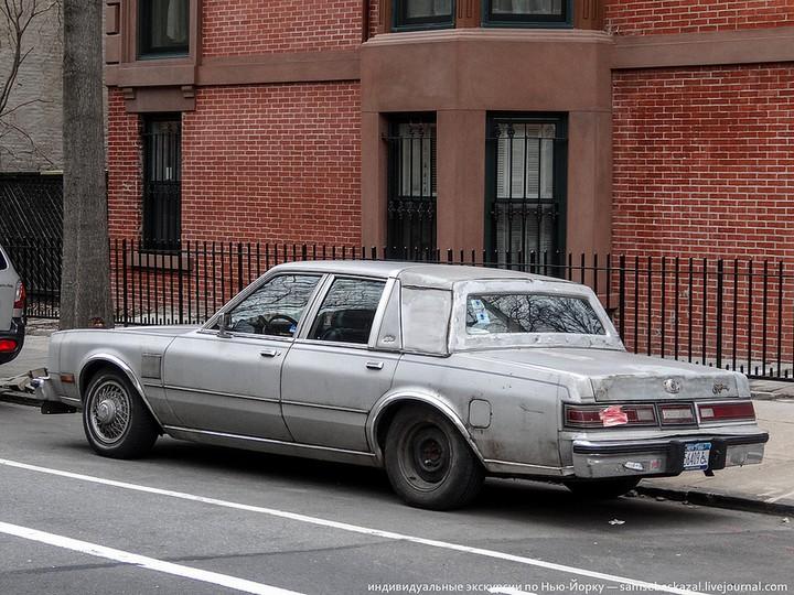 Фото старых американских машин Нью-Йорка. Ностальгия (31)