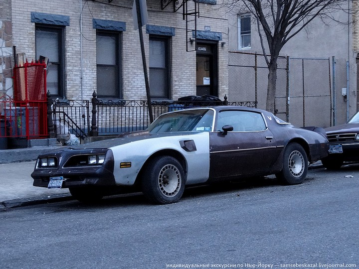 Фото старых американских машин Нью-Йорка. Ностальгия (32)