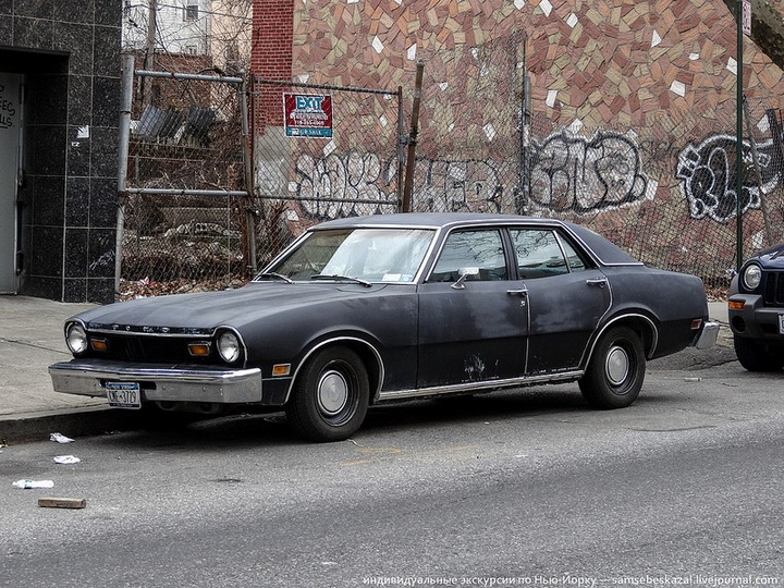 Фото старых американских машин Нью-Йорка. Ностальгия (34)