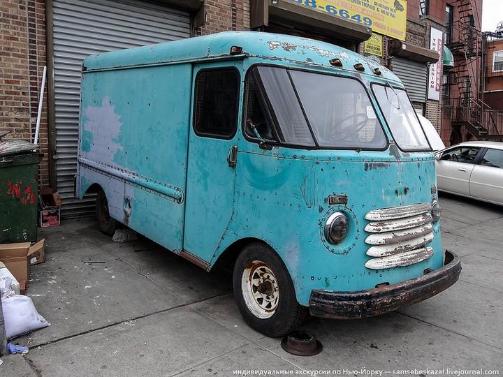 Фото старых американских машин Нью-Йорка. Ностальгия (36)