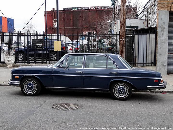 Фото старых американских машин Нью-Йорка. Ностальгия (37)