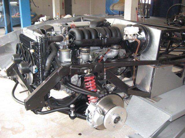 Mercedes 300SL «Gullwing» своими руками (11)