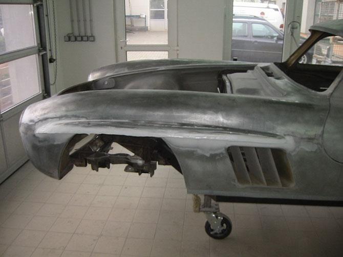 Mercedes 300SL «Gullwing» своими руками (13)